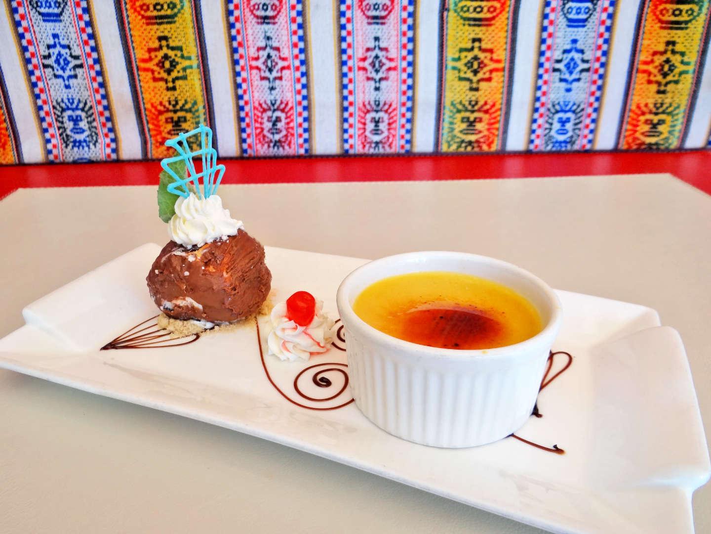 Crème Brûlée con Helado